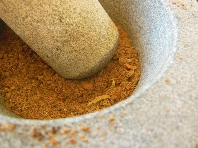 chai almond spice