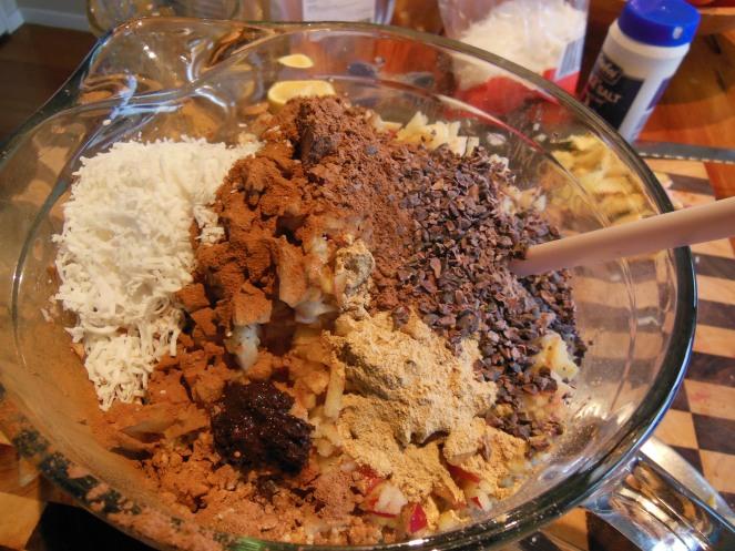 superfood granola mixture